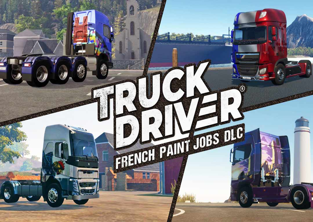بررسی بازی کامیون سواری جذاب Truck Driver – USA Paint Jobs DLC