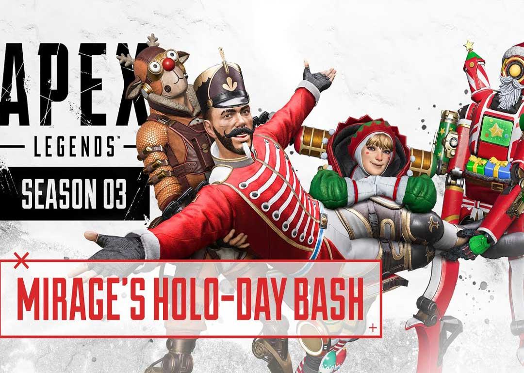 معرفی رویداد جدید Holo-Day Bash در بازی Apex Legends